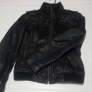 Guess Los Angeles leather jacket